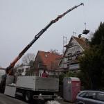Dachziegelanlieferung