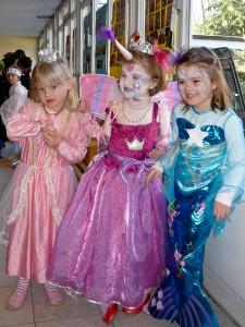 Von links: Klara, Mariella, Josephine